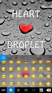 Heart Droplet Kika Keyboard