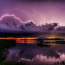 Lake Charlotte Lightning Storm