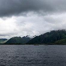 Cloudy Coastline