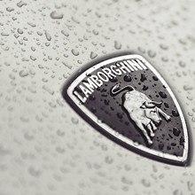 Wet Lamborghini Badge