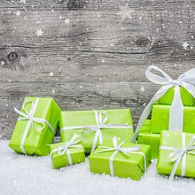 Green Christmas Gifts