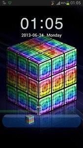 GO Locker Style Rainbow Cube