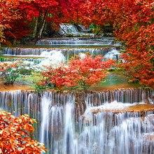 Erawan Falls In Autumn