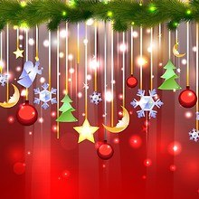 Christmas Decorations Art