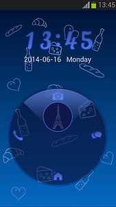 Lock Screen Paris