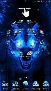 Ice Wolf 3D Theme