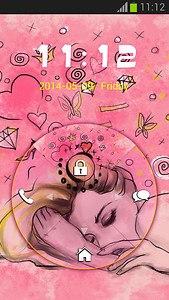 Cute Pink Inspired GO Locker