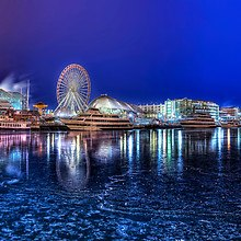 Navy Pier Chicago HDR