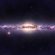 Galaxy Side View