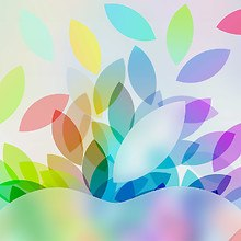 Apple iPad Colorful