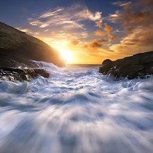 Celtic Sea Sunset