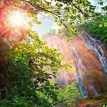 Waterfall Sun Rays