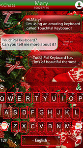 Christmas Outfits Keyboard