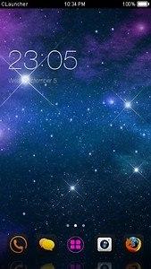 Night Sky C Launcher Theme