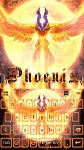 Phoenix Emoji Kika Keyboard