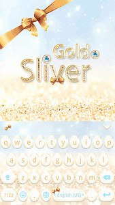 Gold & Sliver Kika Keyboard