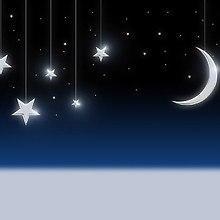 Hanging Moon & Stars