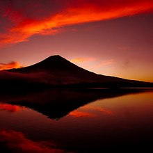 Mount Fuji Volcano