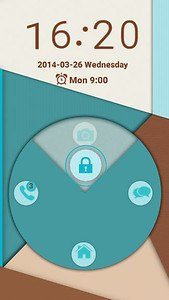 Locker Cyan for Android L
