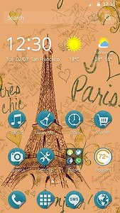 Beautiful Paris Theme