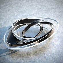 Abstract Ring LG G2