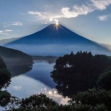 Mount Fuji Sunshine