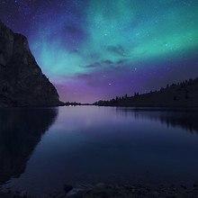 Lake Aurora Borealis