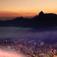 Rio De Janeiro City Lights