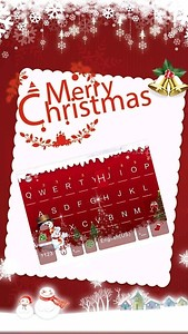 Happy Christmas Kika Keyboard