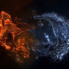 Fire And Ice Mystical