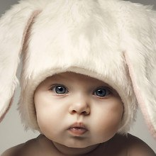 Cute Baby Bunny Hat
