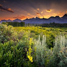 Beautiful Grand Teton National Park