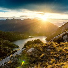 Fiordland New Zealand Sunrise