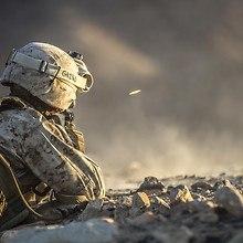 Soldier Shooting Gun