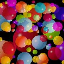 Colourful Bubble Balls