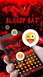 Bloody Bat GO Keyboard Theme