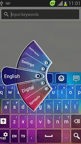Keyboard for LG G Pro 2