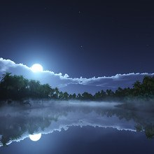 Lake Moonlight