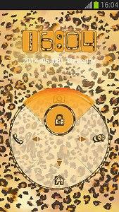 GO Locker Leopard Print