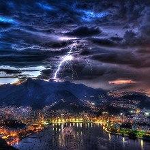 Rio De Janeiro Storm