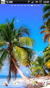 Caribbean Beach Shore LWP
