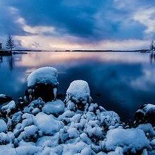 Calm Winter Lake