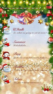 (FREE) GOSMS CHRISTMASⅡ THEME