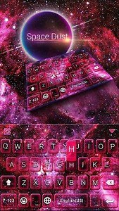 Space Dust Emoji Kika Keyboard