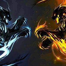 Fire And Ice Art