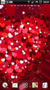 free heart live wallpaper