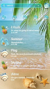 FREE - GO SMS PRO SUMMER THEME
