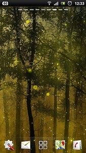 Fireflies Live Wallpaper