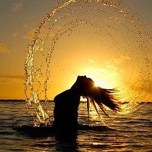 Silhouette Sea