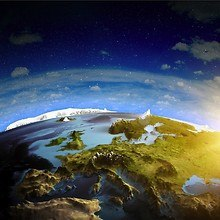 3D Earth View